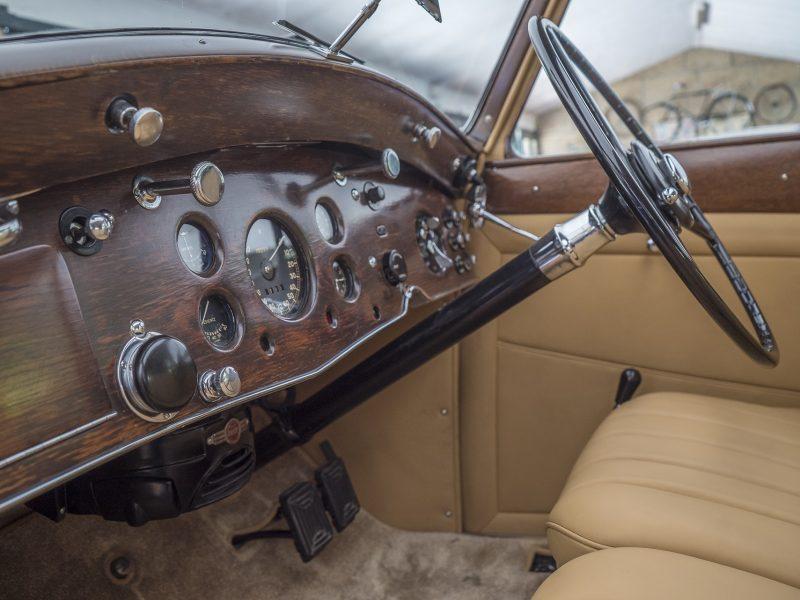 Rolls Royce Wraith 1938 Bordeaux Steering Wheel
