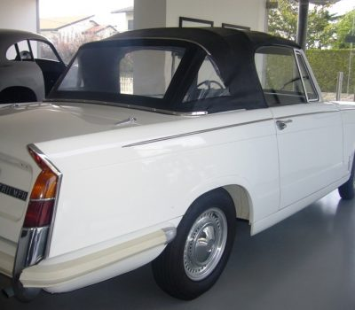 Triumph Herald 1971 White Back Right