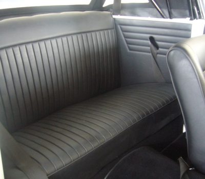 Triumph Herald 1971 White Back Seats