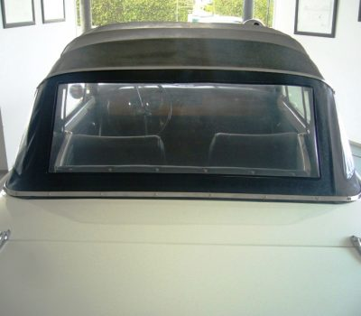 Triumph Herald 1971 White Convertible Roof