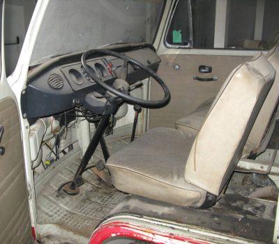 Volkswagen T2 Kombi Pickup Gazcidla 1969 White Steering Wheel